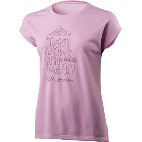 Houdini Big Up Message - T-shirt manches courtes Femme - rose